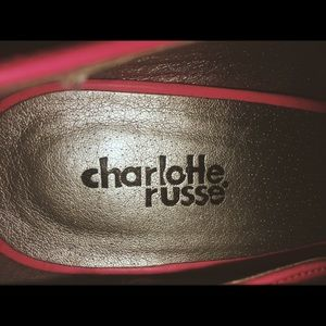 CharlotteR Heels (used once, s m a l l marks )